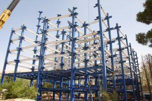 مزایای ساختمان فلزی
