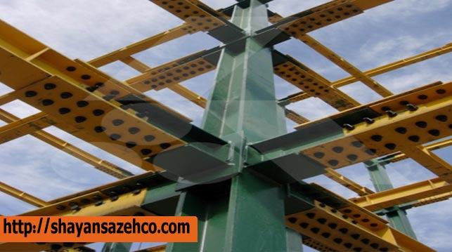 تفاوت اسکلت فلزی با اتصالات جوشی
